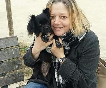 Céline bénévole 95 Gamelles Sans frontière